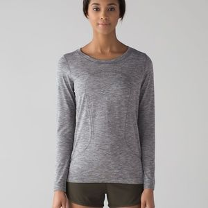 Lululemon Swiftly Tech L/S  Breeze Relax NWTS 10